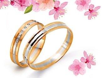 «Линии Любви» дарят скидки на обручальные кольца.