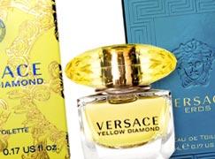 Две миниатюры Versace в подарок за заказ в Летуаль