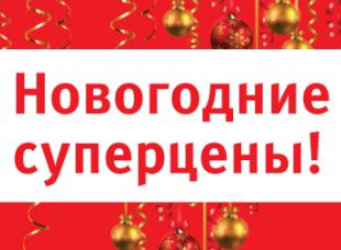 Новогодние суперцены в интернет-магазине Hoff