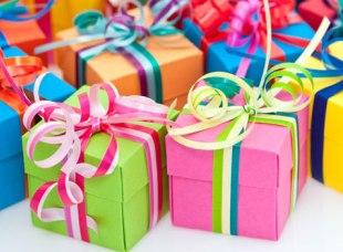 Подарки в «Красном кубе»