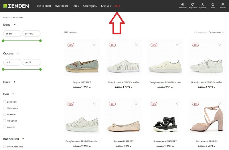 Zenden.ru акции