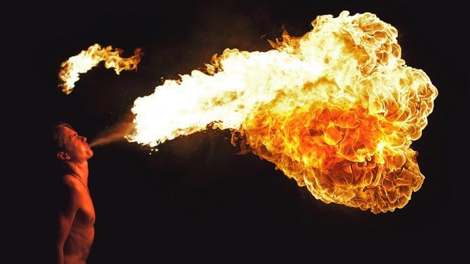 Билеты на фестиваль огня со скидкой 50% по купону Биглион