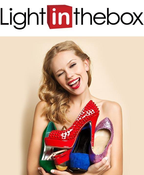 Скидка подписчикам страницы LightInTheBox вКонтакте