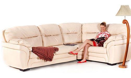 Распродажа кожаных диванов в HomeMe