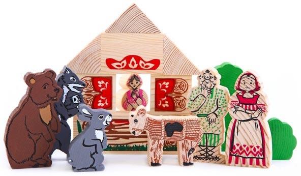 -10 % на деревянные игрушки Томик на Babadu.ru
