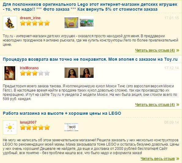 Отзывы о Той.ру