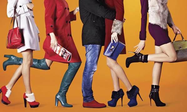 Европейская обувь в магазине ASOS
