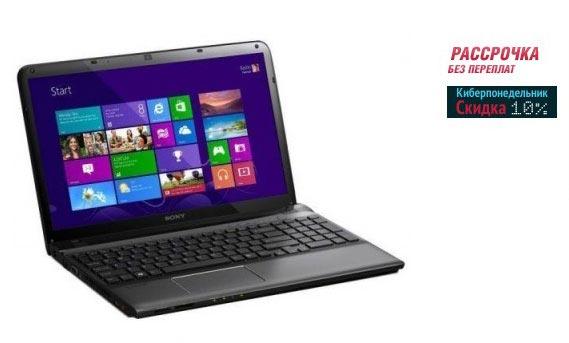 Ноутбук со скидкой на распродаже Киберпонедельник в магазине Эльдорадо