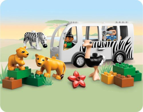 LEGO DUPLO со скидкой 50% в май Тойс