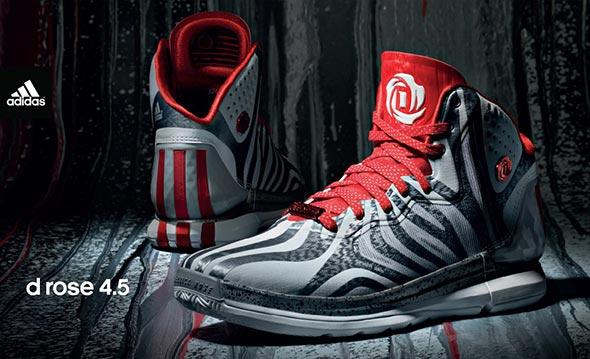 Новинка коллекции D Rose в магазине Adidas